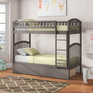 Jackie Twin over Twin Bunk Bed with Drawers