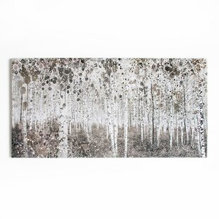 Dreaming In Watercolour Woods Art Print On Canvas