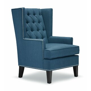 Aguilera Wingback Chair by Alcott Hill SKU:CC463958 Guide