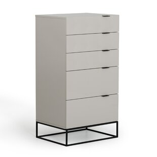 Great deal Clower 5 Drawer Chest by Orren Ellis