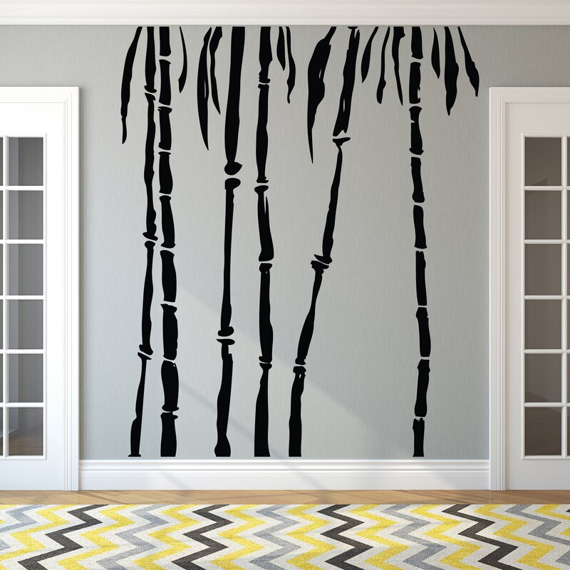 Ebern Designs Bamboo Trees Wall Decal Wayfair