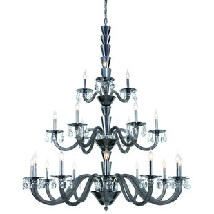 Rosdorf Park Felisa 21-Light Chandelier