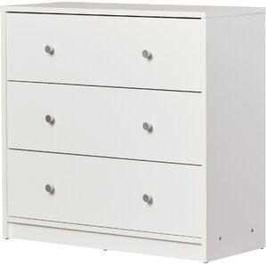 white bedroom dressers. Conder 3 Drawer Chest White Dressers  of Drawers You ll Love Wayfair