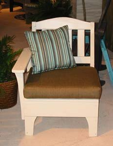 Westport One Arm Chair with Cushions