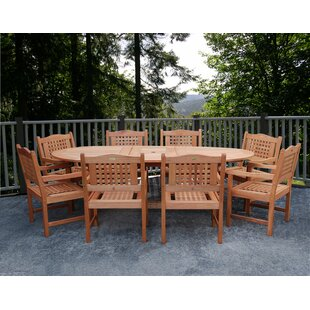 Beachcrest Home Eades 9 Piece ..