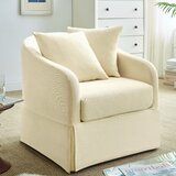 Chaffin Swivel Barrel Chair by Darby Home Co