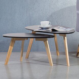 Affordable Fly II 2 Piece Nesting Tables by Home Loft Concepts