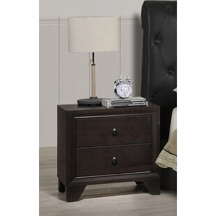 Bergeron 2 Drawer Nightstand