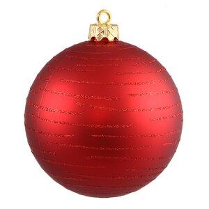 Ball Christmas Ornament (Set of 2)