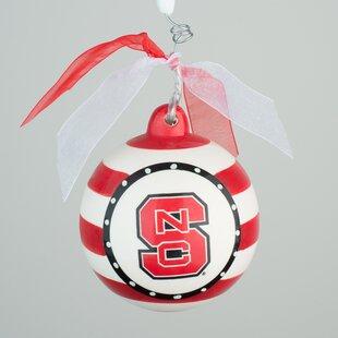 North Carolina State Stripe Ball Ornament ByGlory Haus