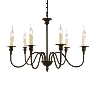 LNC Home 6-Light LED Chandelier
