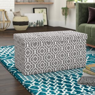 Chani Storage Ottoman by Bungalow Rose