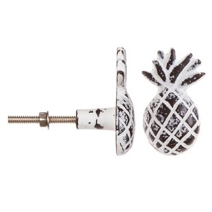 Silver Metal Wine Stopper With Pineapple Handle