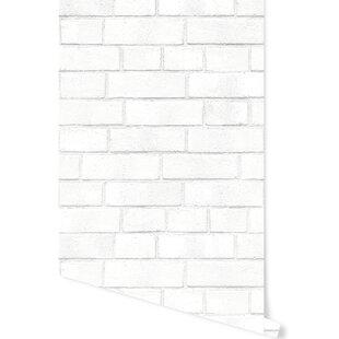 Schall Brick 16 5 L X 20 W And Stick Wallpaper Roll