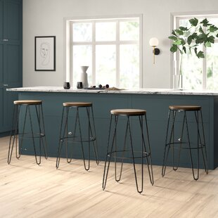 LaGuardia 30 Bar Stool (Set of 4) Mercury Row