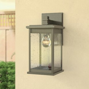 Purchase Bermuda 1-Light Outdoor Wall Lantern By Three Posts