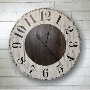 954ba492a916 Farmhouse & Rustic Wall Clocks | Birch Lane