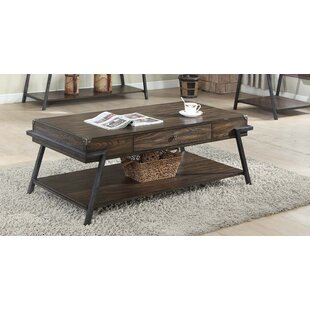 Affordable Burks Coffee Table by Williston Forge