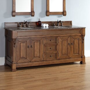 Bedrock 71.5 Double Cabinet Vanity Base Only By Darby Home Co