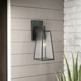 Karly 1-Light Outdoor Wall lantern by Trent Austin Design