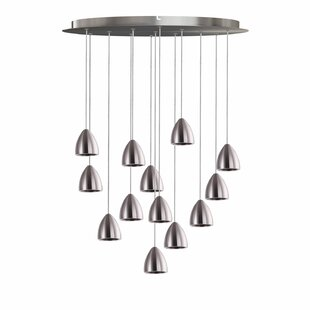 Atherton 13-Light LED Cluster Pendant by Orren Ellis