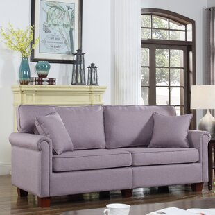 Classic Living Room Linen Fabric Sofa