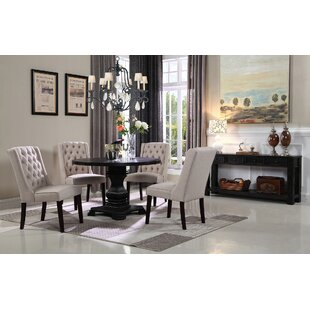 Motta 5 Piece Solid Wood Dining Set
