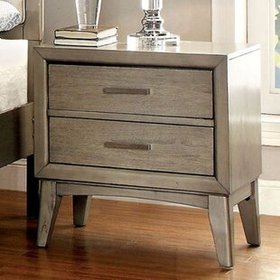 Kardos 2 Drawer Nightstand by Mercer41