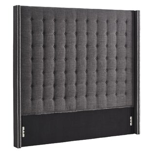 Shop For Luxullian Button Tufted Upholstered Wingback Headboard ByRosdorf Park