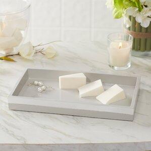 Bathroom Accessories Tray find the best vanity trays   wayfair