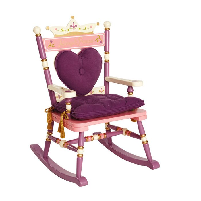 Princess Rock A Buddies Royal Kids Chair