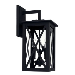 Top Reviews Aticus 3-Light Outdoor Wall Lantern By Alcott Hill