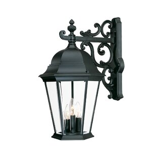Bellver 3-Light Outdoor Sconce by Astoria Grand