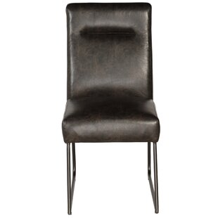 Williston Forge Evonne Industrial Upholstered Dining Chair