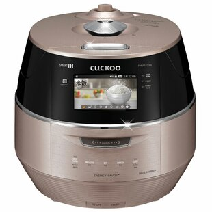 Cuckoo 10 Cup LCD Display IH Electric Pressure Rice Cooker