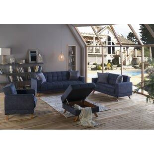 Salman Sleeper Configurable Living Room Set By Brayden Studio