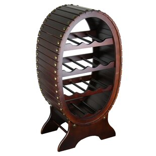 Frieda 13 Bottle Floor Wine Bottle Rack b..