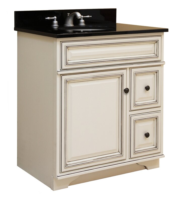 "Bathroom Vanity Base sunny wood sanibel 30"" bathroom vanity base & reviews 