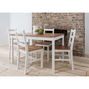 Annika Dining Set with 4 Chairs  sc 1 st  Wayfair & Dining Table Sets Kitchen Table u0026 Chairs Youu0027ll Love | Wayfair.co.uk