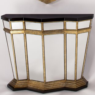 Artmax Console Table with Mirror