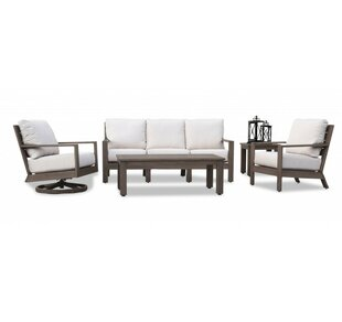 Laguna 5 Piece Deep Seating Group with Cushions by Sunset West