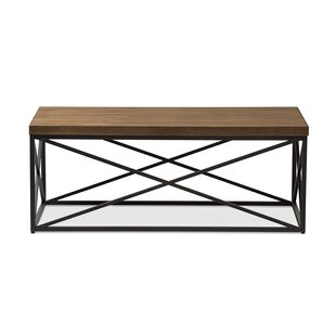 Trudeau Coffee Table by Union Rustic