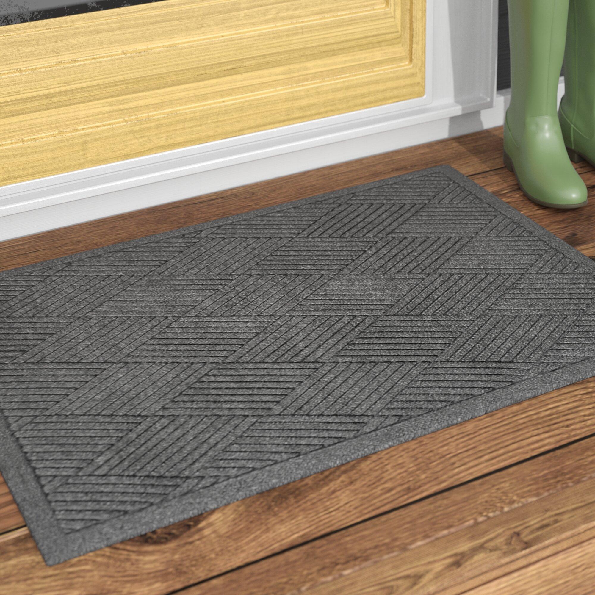 Outdoor Door Mat Commercial Entrance Indoor Floor Rubber Entry Rug Non-Slip Safe