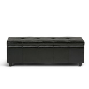 Burkeville Tufted Storage Ottoman by Charlton Home