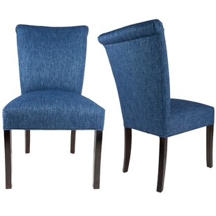 Barcelona Upholstered Dining Chairs (Set of 2) Sole Designs