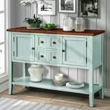 Galbraith 46'' Wide 4 Drawer Buffet Table by Longshore Tides
