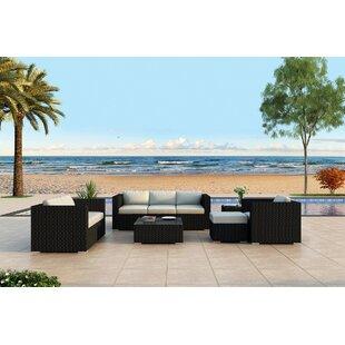 Azariah 5 Piece Sunbrella Sofa Set with Cushions by Orren Ellis