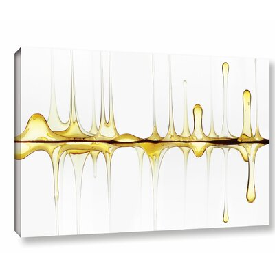 Ebern Designs 'Sweet Sound of Your Voice' Graphic Art on Wrapped Canvas Size: 24 H x 36 W x 2 D
