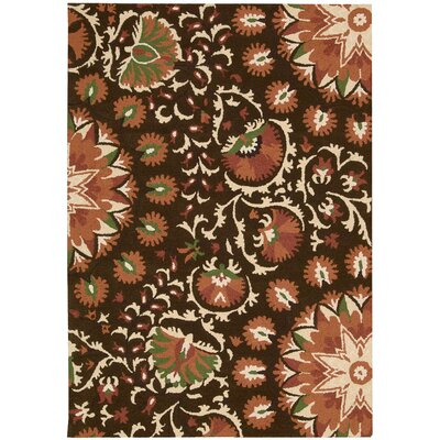 Aberdeenshire Hand-tufted Brown Area Rug Charlton Home Rug Size: Rectangle 2