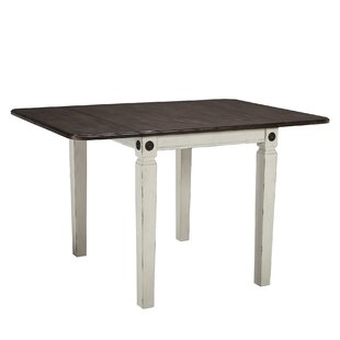 Marchan Drop Leaf Solid Wood Dining Table by Gracie Oaks Today Only Sale